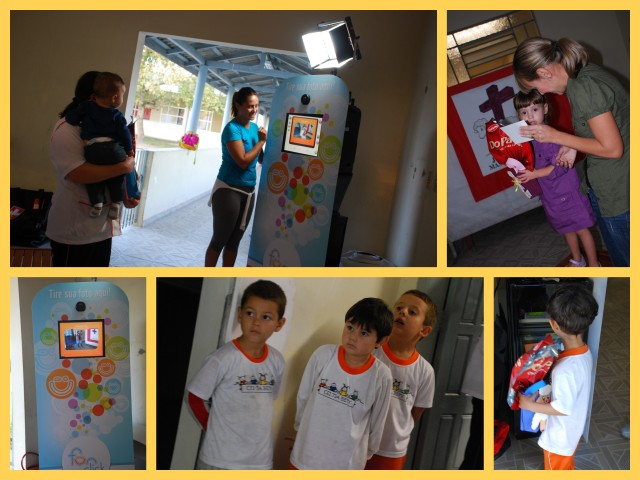 Ação realizada pelos alunos do 7* Período do Curso de Relações Públicas na Creche Tia Beth onde estão realizando seu trabalho de conclusão do curso.